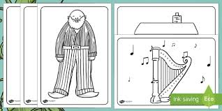 jack and the beanstalk colouring sheets jack and the