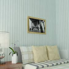 mediterranean style blue striped living room wallpaper pink