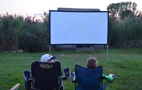 Backyard Projector Screen by Hands On Review Elite Screens Yard Master 2 Outdoor Home Theater