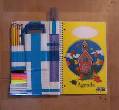 Binder Decorating Ideas Duct Tape Assignment Notebook Organizer A N O 8 Steps