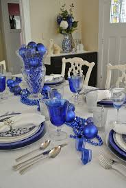 25 awesome blue christmas decorations ideas wooden tables table