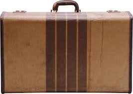 suitcases 3 suitcases photo transparent png stickpng