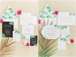 tropical wedding invitations tropical wedding invitations in the press gourmet invitations