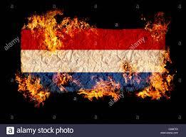 Flag Of Netherlands National Symbols And Flag Of Netherlands Stock Photo Royalty Free