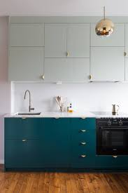 Two Toned Kitchen Cabinets As Inspiring Kitchens You Won U0027t Believe Are Ikea Kitchens Dark