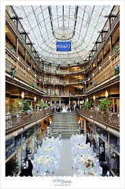 Wedding Decorators Cleveland Ohio Arcade Hyatt Cleveland Wedding Reception Weds Pinterest