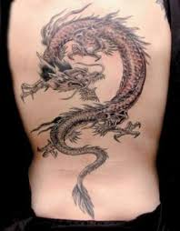 european dragon tattoos on back tattoo from itattooz