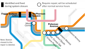 Metro Map Washington Dc A Look Inside The Smoke And Fire Defects That Paralyzed D C Metro