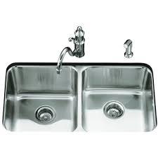 undermount double kitchen sink k3351 na undertone stainless steel undermount double bowl kitchen
