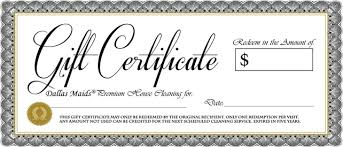 5 free gift certificate templates certificate templates