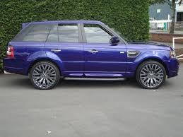 purple range rover cars scunthorpe range rover sport tdv6 cosworth kevin martin