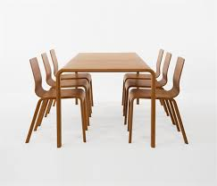 Bamboo Dining Table Set Eco Friendly Bamboo Dining Table Design For Dining Room Furniture
