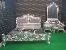 Rococo Bed Frame Bespoke Custom Made Any Size Rococo Bed And Dressing Table
