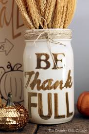 thanksgiving jar craft the country chic cottage