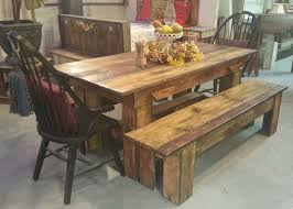 how to make a rustic kitchen table rustic dining room furniture a way of life to the urban jungle