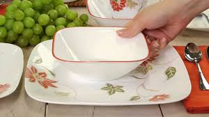 Corelle Clearance Strawberry Tags Ready Stock Clearance Corelle Square 16pcs
