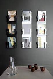 wall mounted sign holder ad case brochure magazine display stands from inno architonic