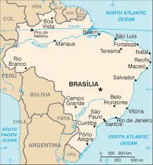 city map of brazil porto alegre map and porto alegre satellite image