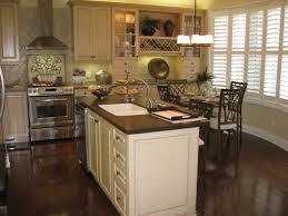 Wood Island Tops Kitchens Interior Cool Image Of Kitchen Decoration Using White Ceramic