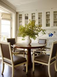 Dining Room Glass Cabinets by Built In Dining Room Storage Dining Room Traditional With Gray