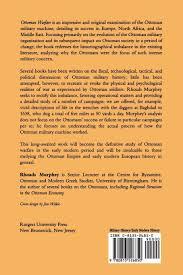 Ottoman Books Ottoman Warfare 1500 1700 Rhoads Murphey 9780813526850