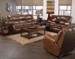 Catnapper Leather Reclining Sofa Catnapper Russell Bonded Leather Lay Flat Reclining Sofa Set
