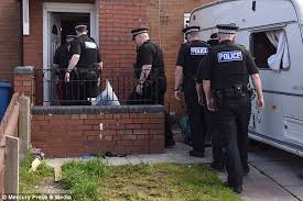 american pitbull terrier uk law dogs pictured in toxteth garden next to mauling site daily mail