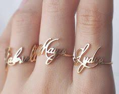 day rings personalized sale and dainty personalized stackable ring name date