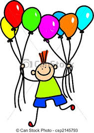 drawings of balloon boy whimsical drawing of a cute little boy