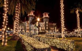 st augustine lights tour may resort magic of nights of lights in st augustine blog