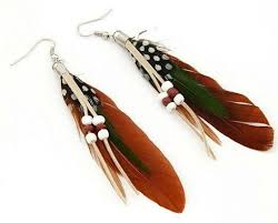 feather earrings online india 18 best feather jewellery images on feather earrings
