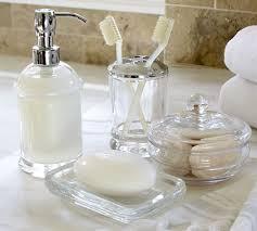 Discount Bathroom Accessories by Bathroom Bathroom Countertop Accessories Sets Classic Glass Bath