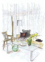 steven gambrel interior rendering michelle morelan sketch