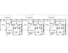 Rental House Plans Triplex House Plans 1 387 S F Ea Unit 3 Beds 2 Ba Google