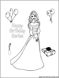 88 coloring barbie princess elegant barbie coloring