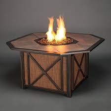 Propane Fire Pit Glass Agio Haywood Gas Fire Pit Get Warmth Beauty U0026 Class