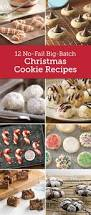 12 no fail big batch christmas cookie recipes christmas cookies