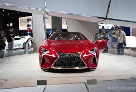 lexus lf lc hybrid concept fast forward concept cars at laa drivingline