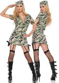 Halloween Military Costumes Womens Army Costume Military Uniform Camo Dress Halloween