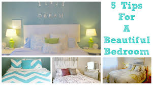 5 tips for a beautiful bedroom youtube