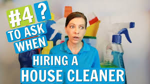 hiring a housekeeper questions to ask when hiring a maid or house cleaner ask a house