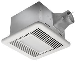 Bathroom Fan Led Light Delta Breez Sig110led Signature 110 Cfm Exhaust Fan With Led Light