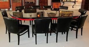 paul frankl american art deco dining table and 10 chairs modernism