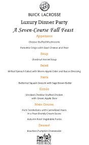 Festive Dinner Party Menu - 7 best menu meals images on pinterest anniversary dinner course