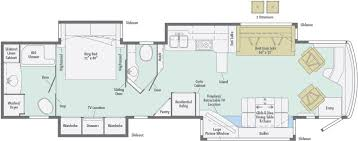 class a rv floor plans ellipse floorplans winnebago rvs