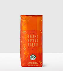 starbucks coffee beans packaging fonts in use