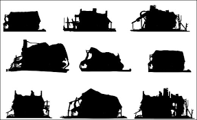 silhouette design index of categories environments design images