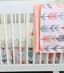amazon com 3 piece crib bedding set