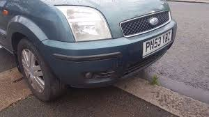 2004 ford fusion 2004 ford fusion front bumper fog lights green u2 colour code
