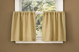 amazon com park designs burlap window treatment tier 72 x 24